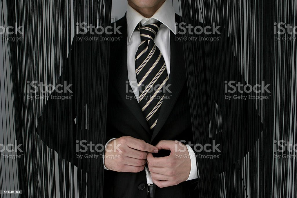 Ready to meet you royalty-free stock photo