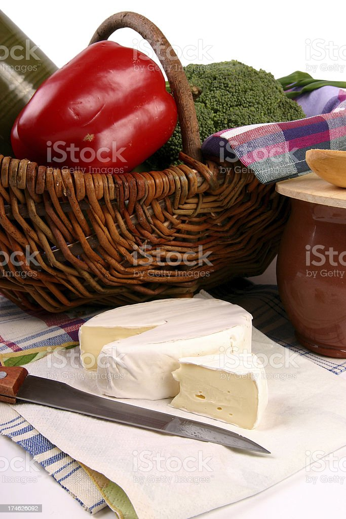 Ready to picnic stock photo