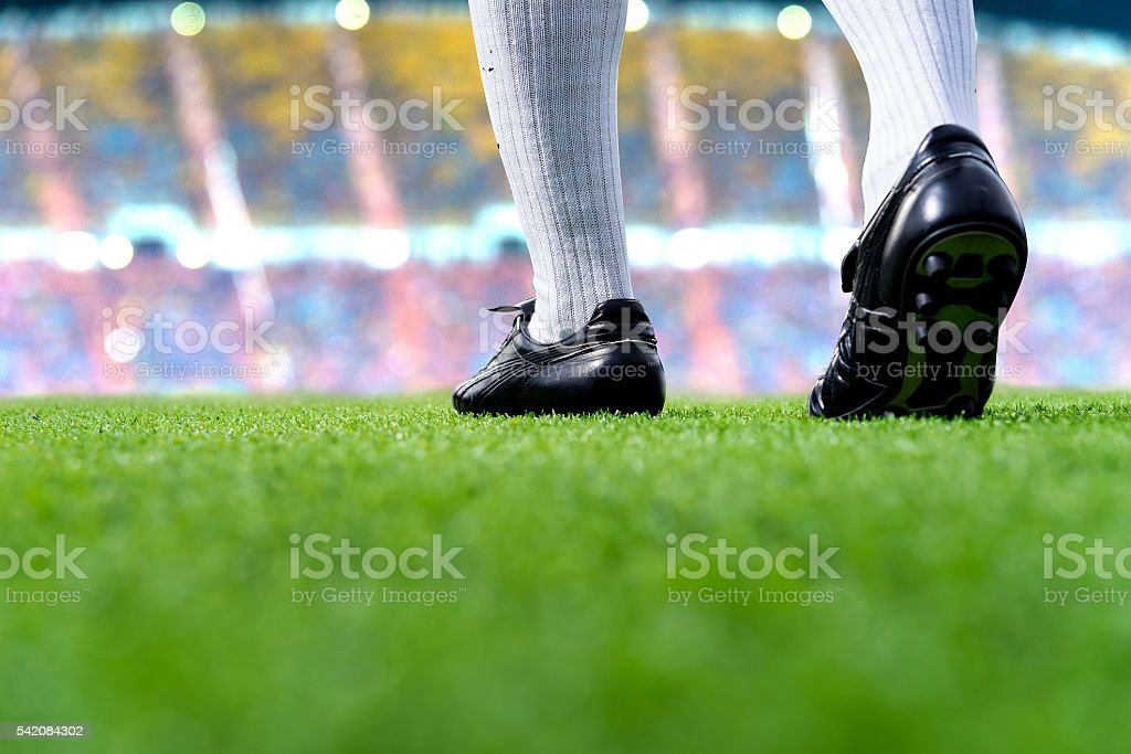 ready to play soccer match – Foto
