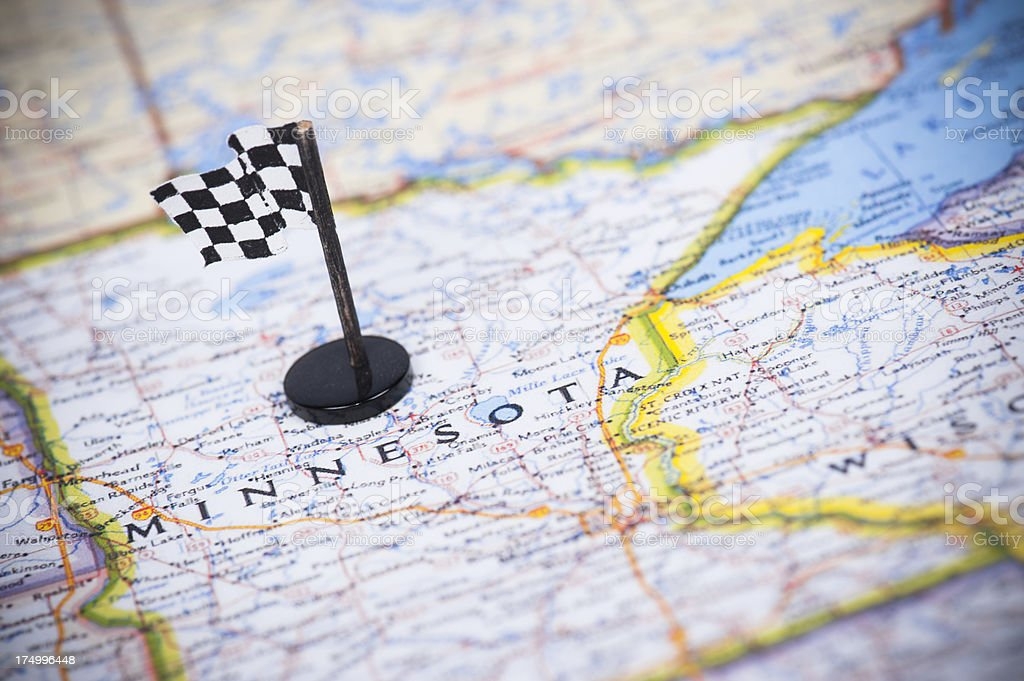 Ready to race in Minnesota? stock photo