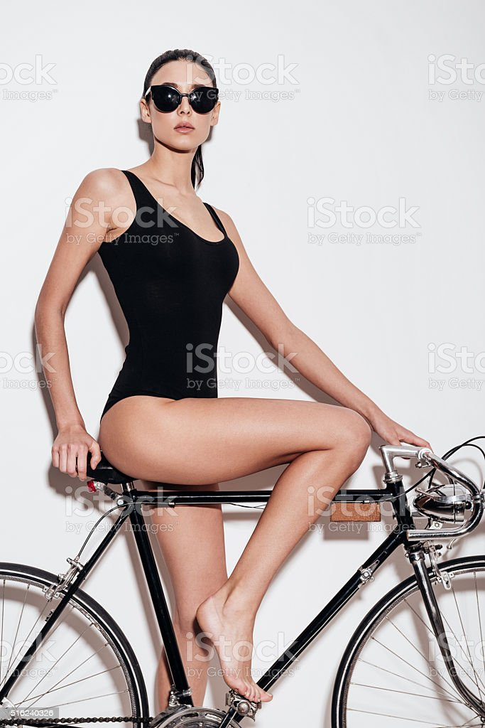 Ready to ride. stock photo