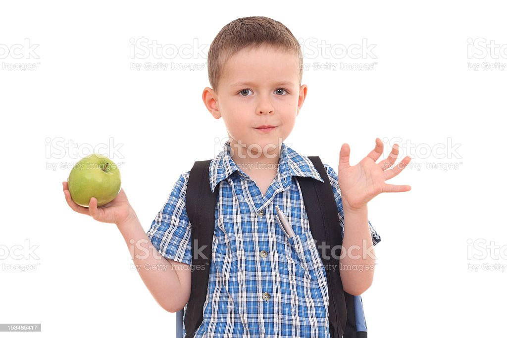 ready to school royalty-free stock photo