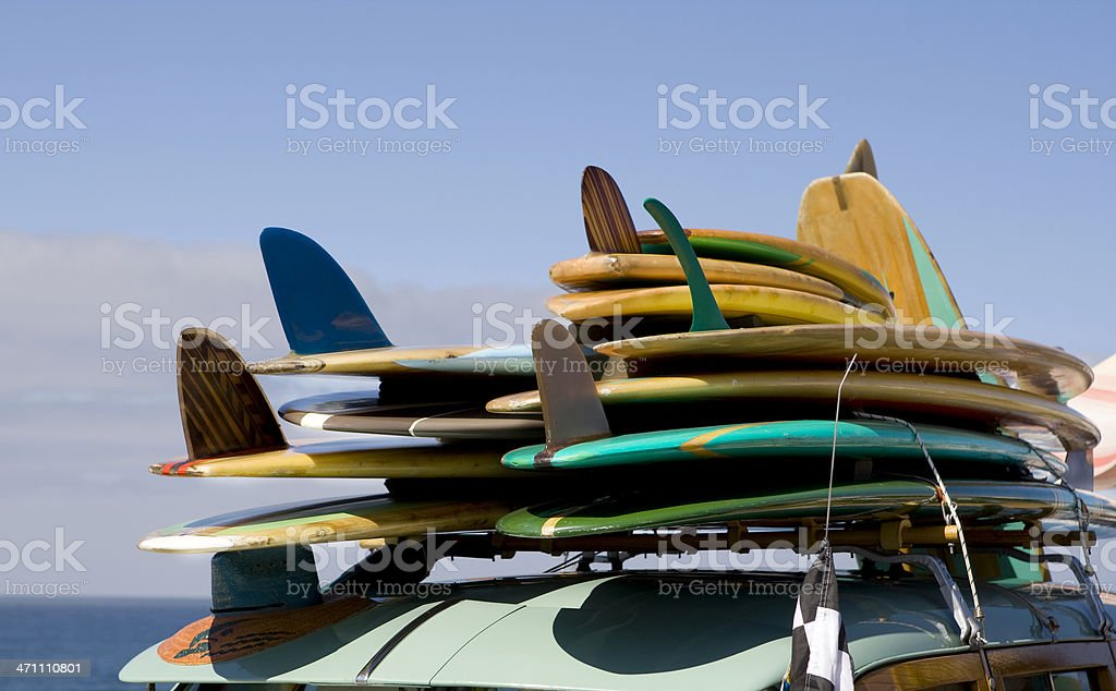 Ready to Surf stock photo