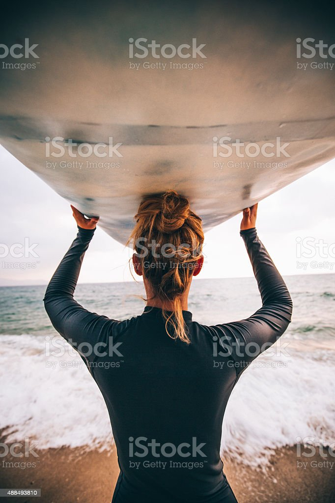 Ready to surf - Royalty-free 20-29 Years Stock Photo