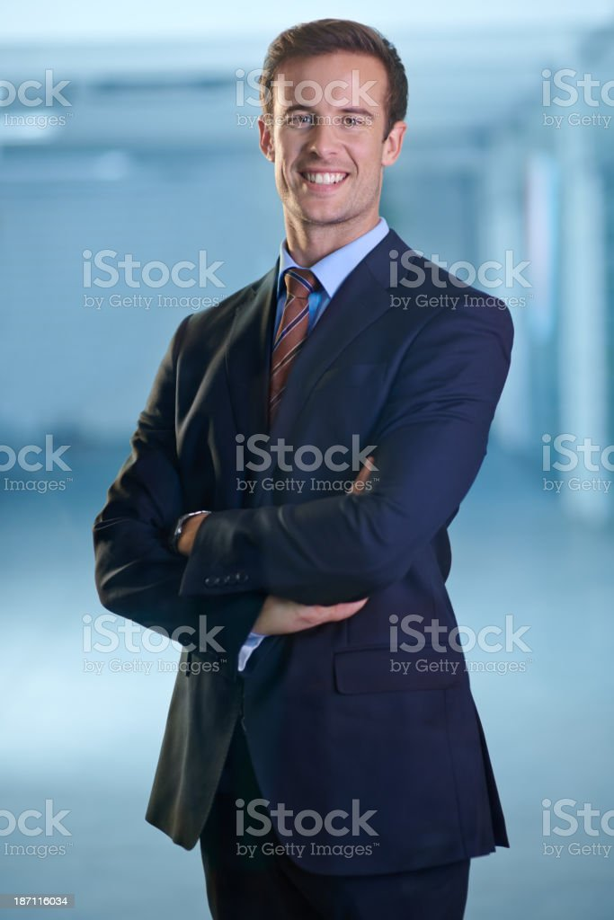 Ready to tackle the businessworld stock photo
