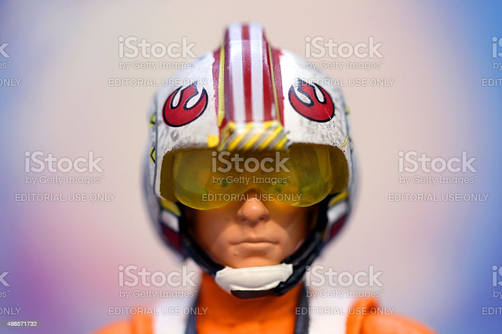Ready to Tackle the Death Star stock photo
