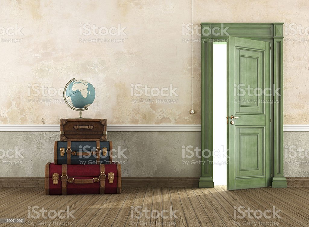 Ready to the travel stock photo