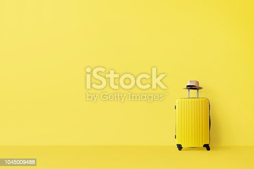 istock Ready to travel concept 1045009488