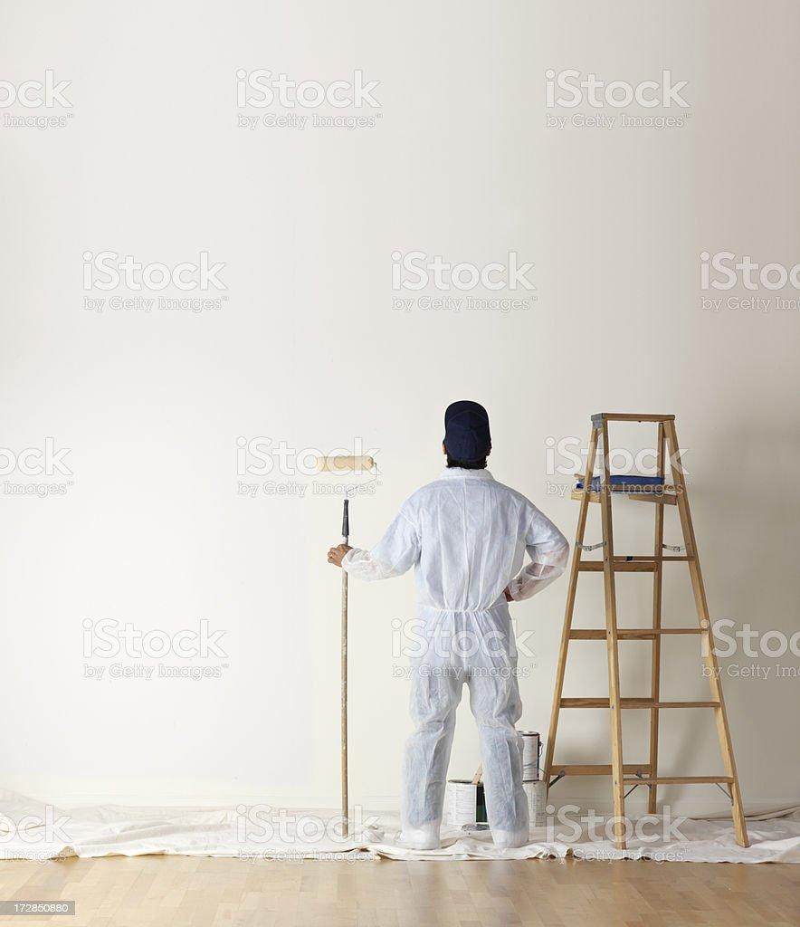 Bereit für die Arbeit - Lizenzfrei Anstreicher Stock-Foto