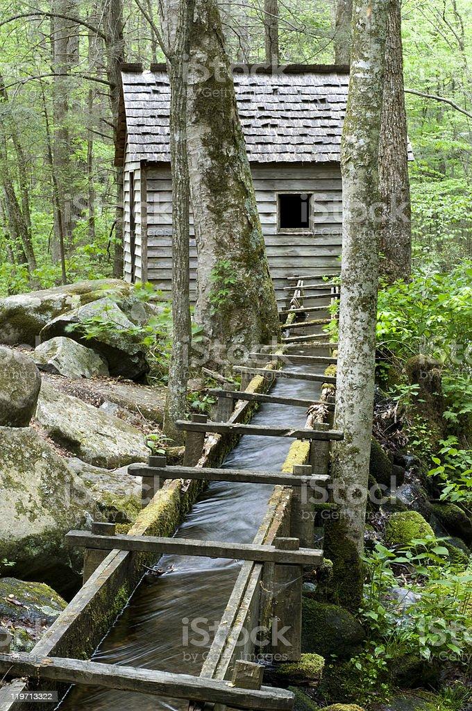 Reagan Mill, Great Smoky Mountains National Park royalty-free stock photo