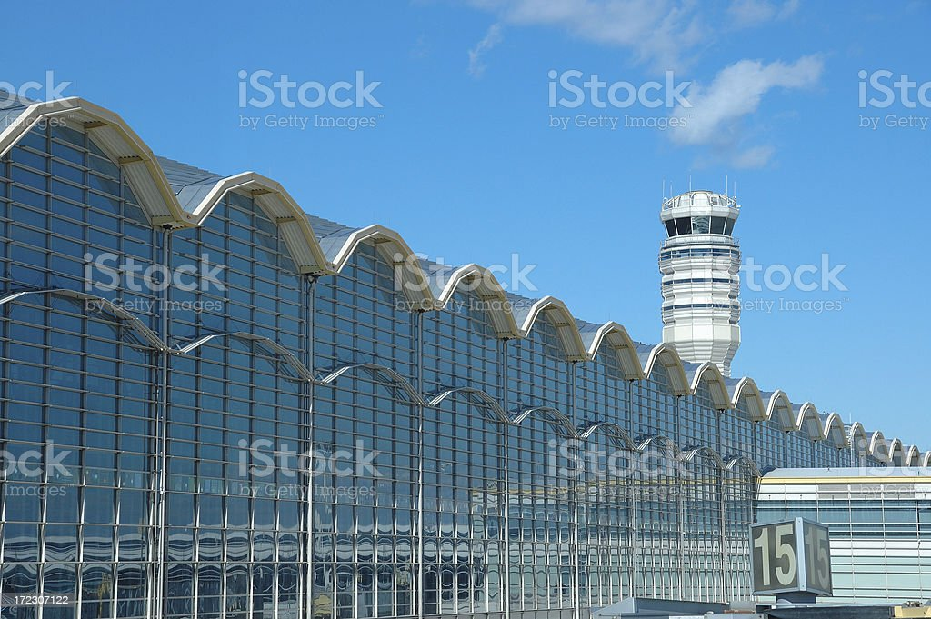 Reagan National Airport in Washington, DC royalty-free stock photo