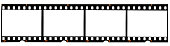 istock real 35mm film strip on white, analogue photo frame placeholder 1127836780