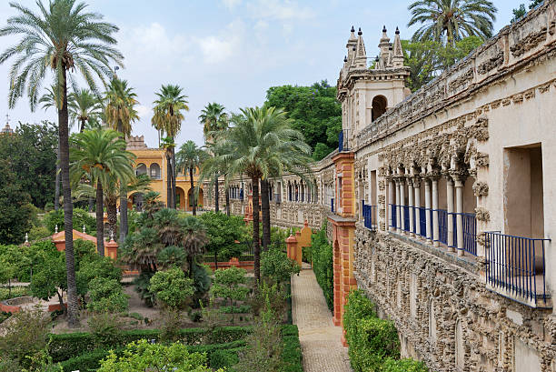 Real Alcazar Sevilla  alcazar palace stock pictures, royalty-free photos & images