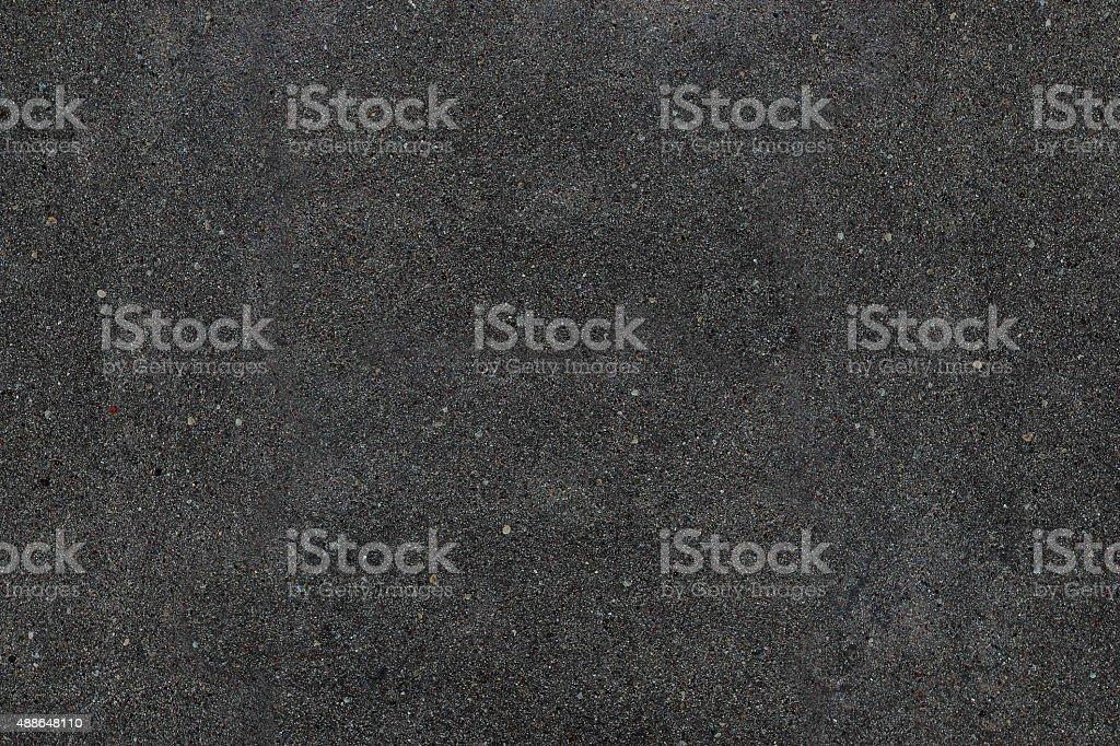 Real asphalt texture background. Coloured dark black asphalt pattern. stock photo