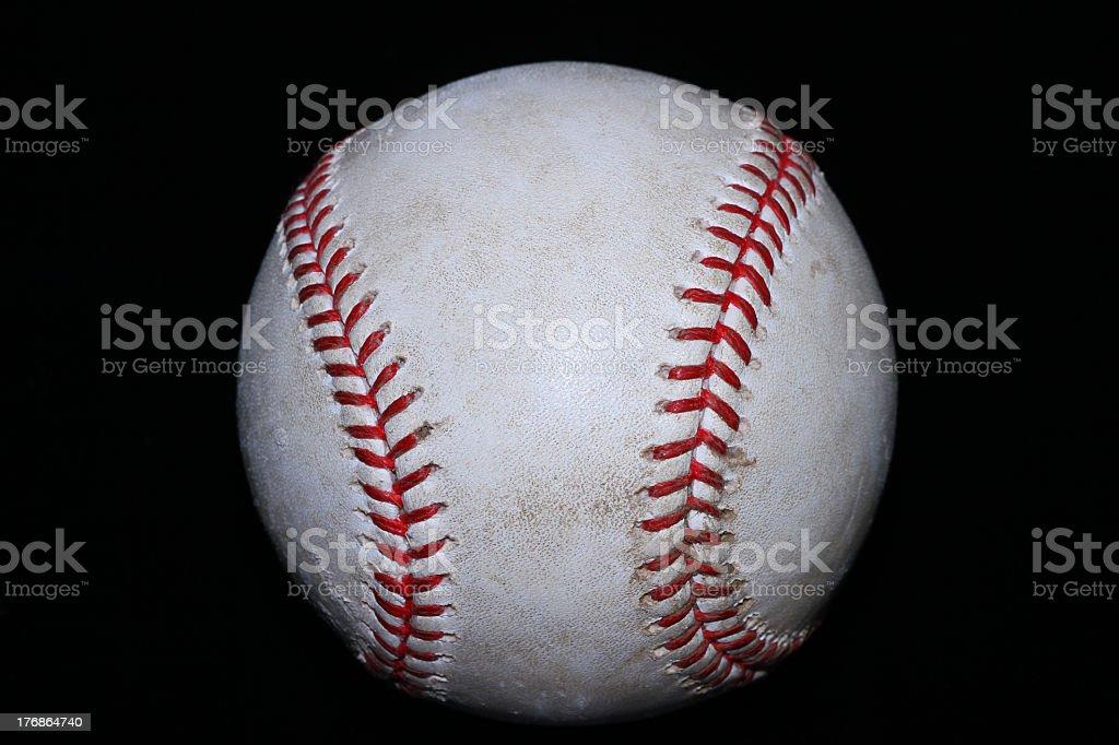 Real Baseball stock photo