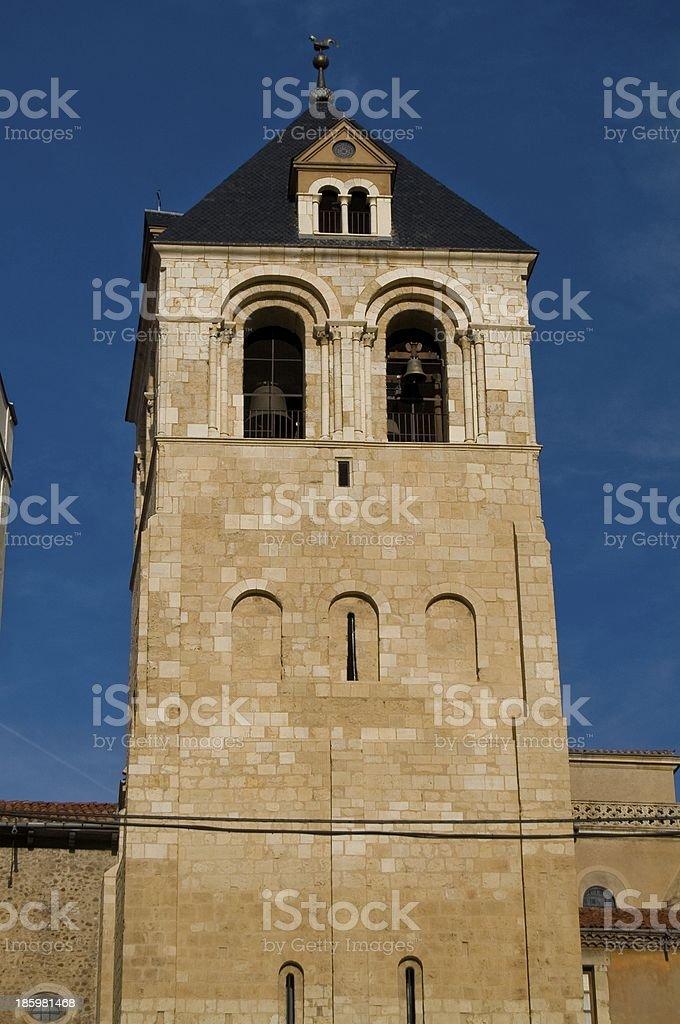 Real Basílica de San Isidoro in Leon. royalty-free stock photo