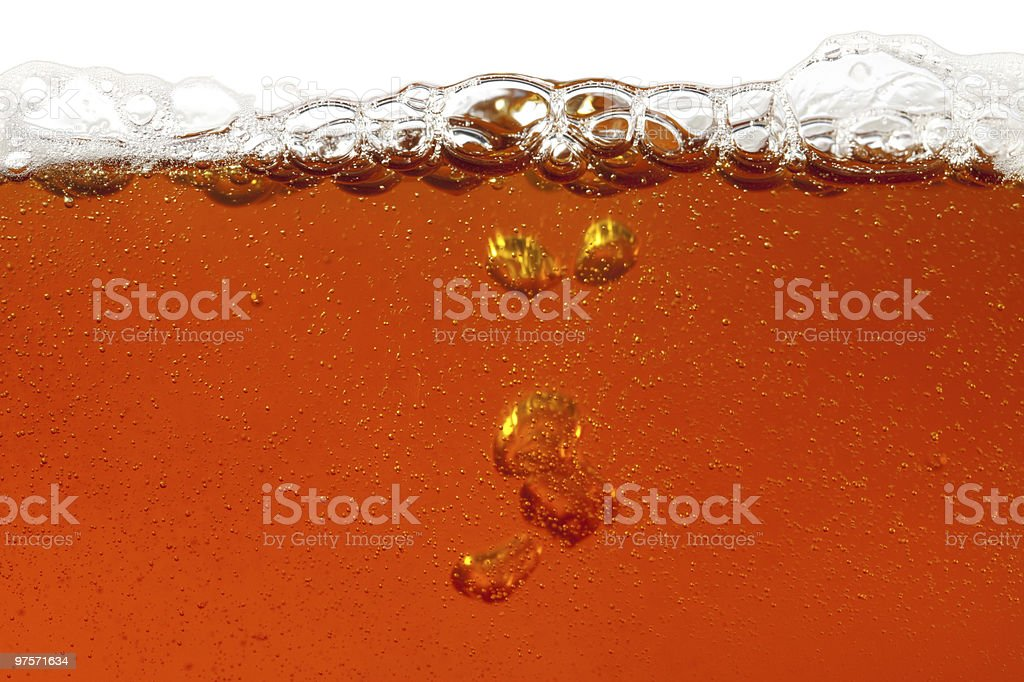 real beer, super large background royalty-free stock photo