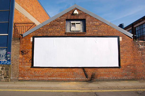 real blank billboard - poster stock pictures, royalty-free photos & images