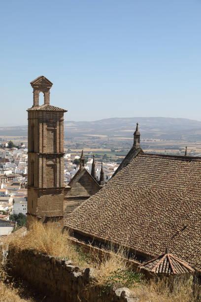 real colegiata church, antequera - pejft stock photos and pictures