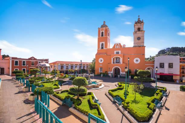 Real del Monte, mexican town in Hidalgo, Mexico