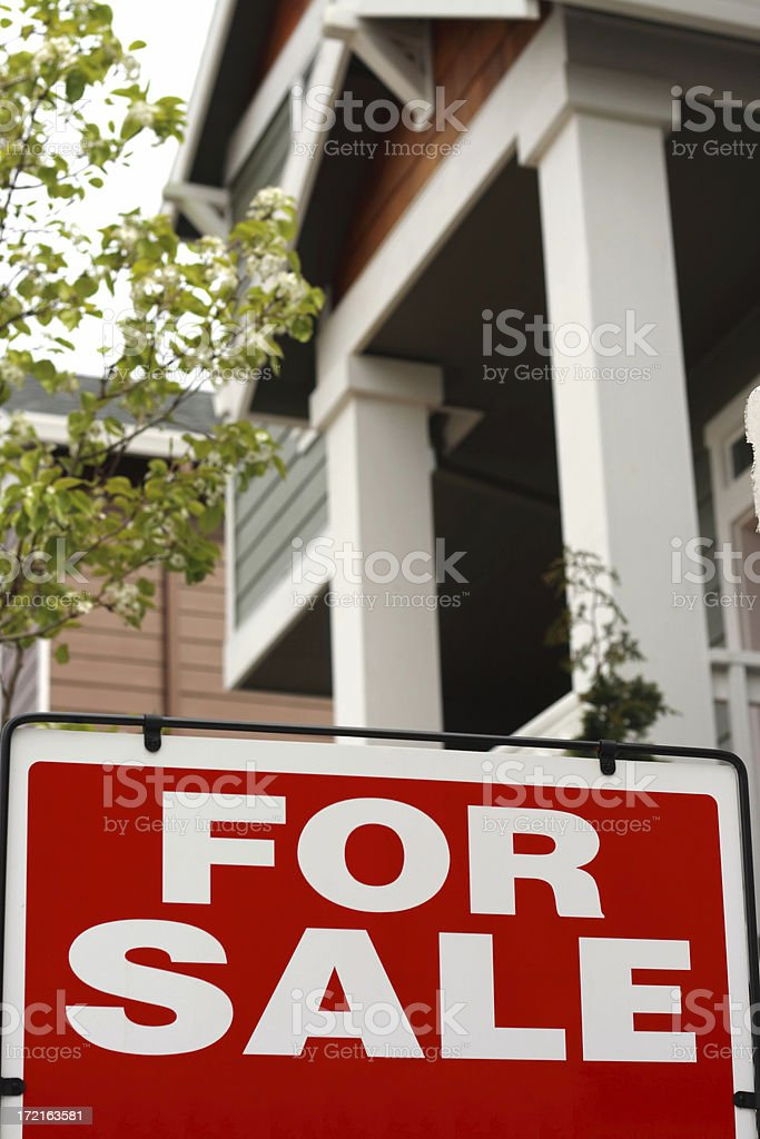 Real estate 1 royalty-free stock photo