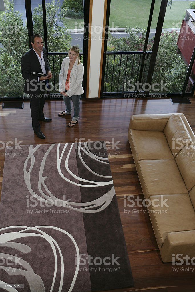 Real Estate Agent royalty-free stock photo