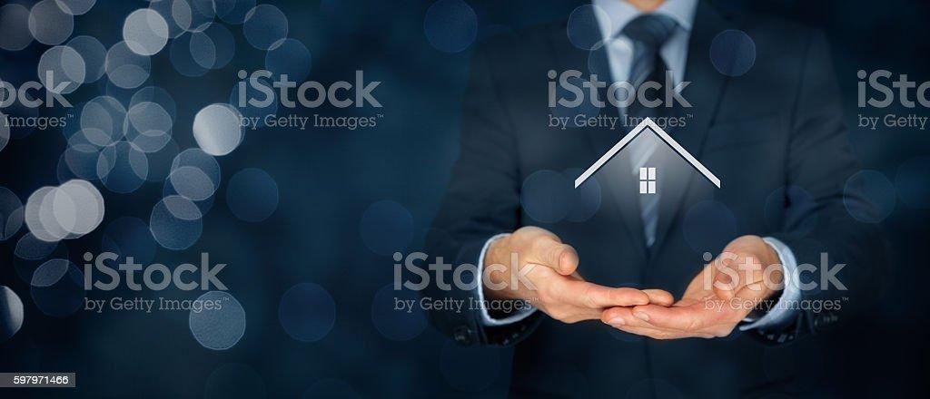 Agente inmobiliario  - foto de stock