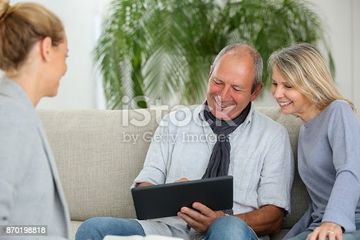 845085240istockphoto real estate agent with senior couple 870198818