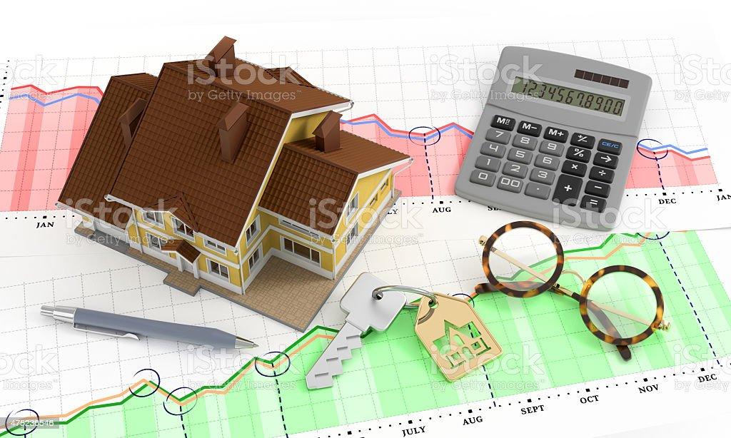 Real Estate Analytics stock photo