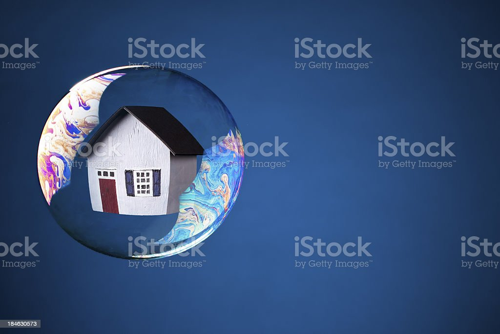 Real Estate Bubble stock photo