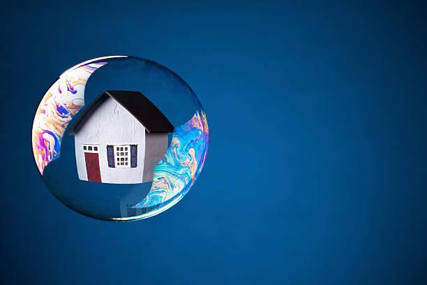 Real Estate Bubble stock photo