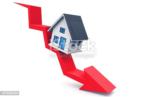 istock Real estate chart 972055434