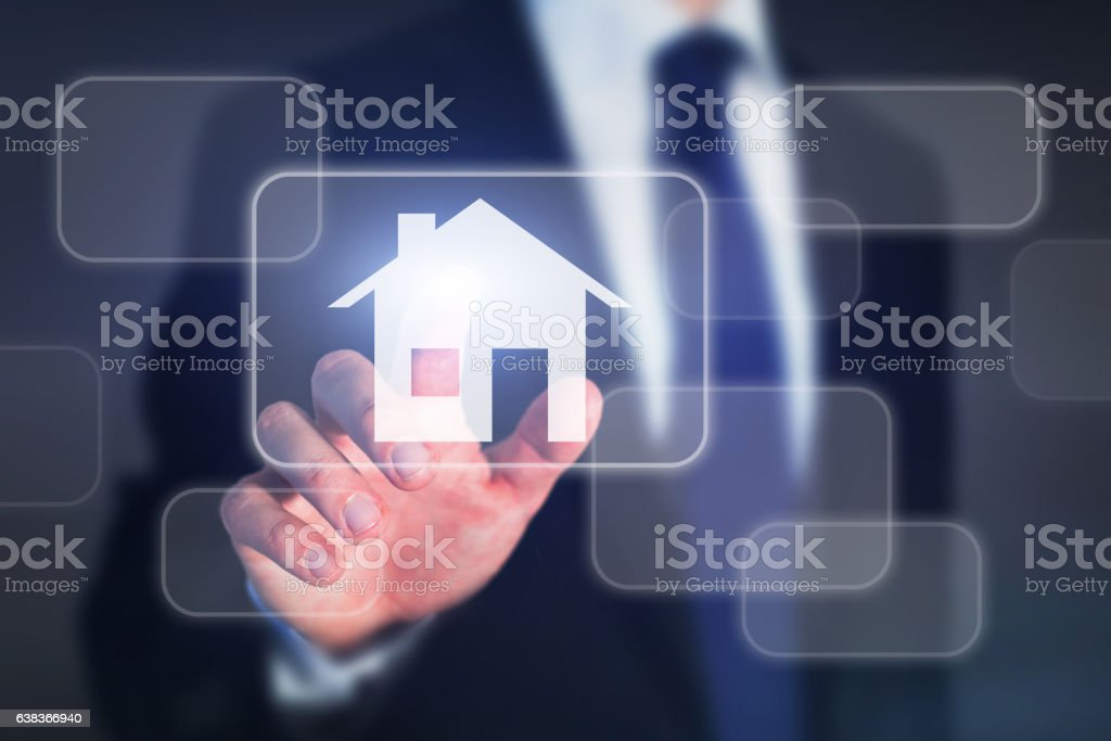 real estate concept, buy house stock photo