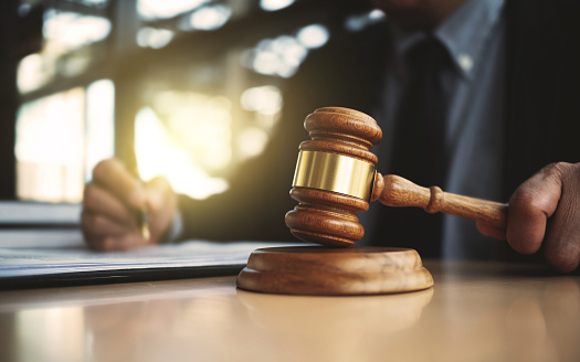 Real Estate Concept Judge Gavel Lawyer With Auction Hammer Stock Photo -  Download Image Now - iStock