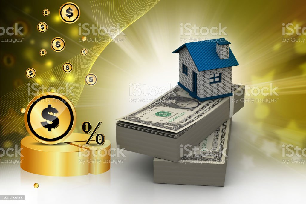 Real estate concept royalty-free stock photo