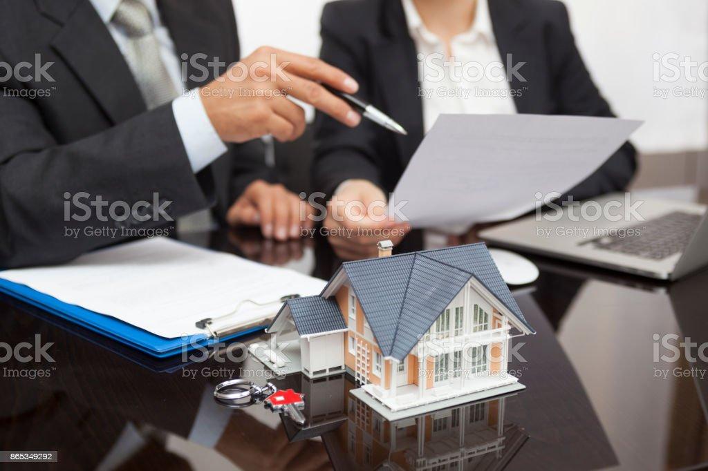 Immobilien-Konzept  – Foto