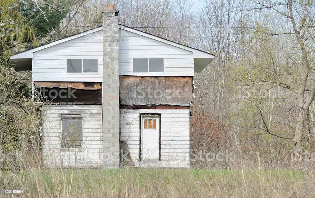 Real Estate Crisis stock photo