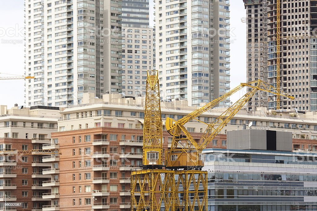 Real estate development at Puerto Madero, Buenos Aires royalty-free stock photo