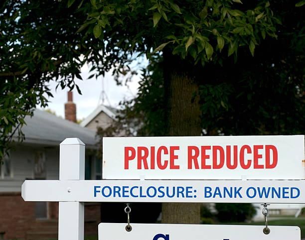 inmobiliaria de mercado: embargo hipotecario - embargo hipotecario fotografías e imágenes de stock