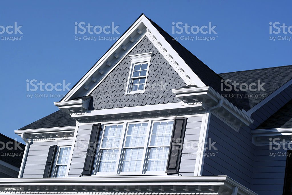 Real Estate - Fancy Home royalty-free stock photo