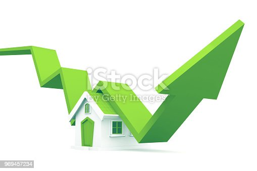 istock Real estate growth chart 969457234