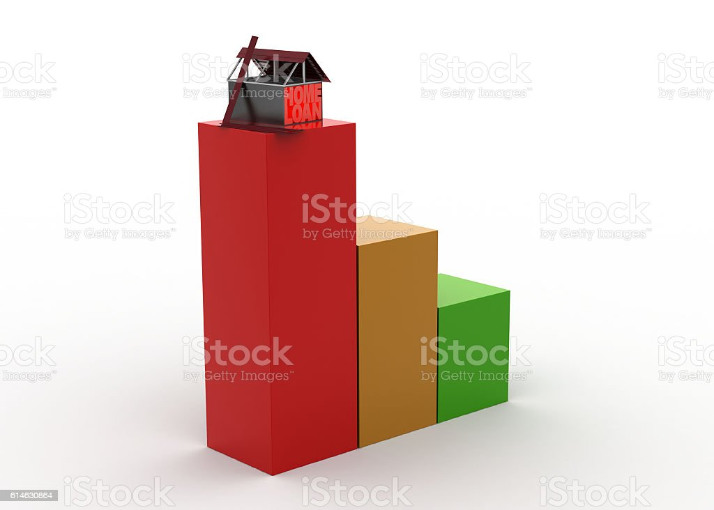 Real estate growth concept stock photo