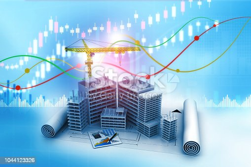 istock Real estate growth graph 1044123326