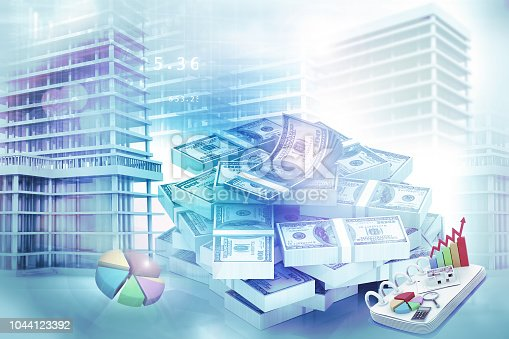 istock Real estate growth graph 1044123392