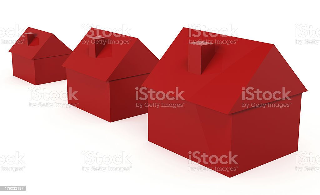 Real Estate Growth royalty-free stock photo