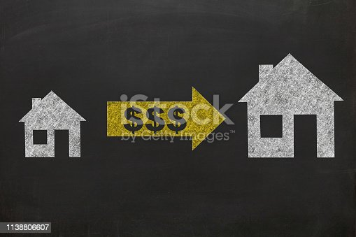 Real estate house price mortgage loan credit