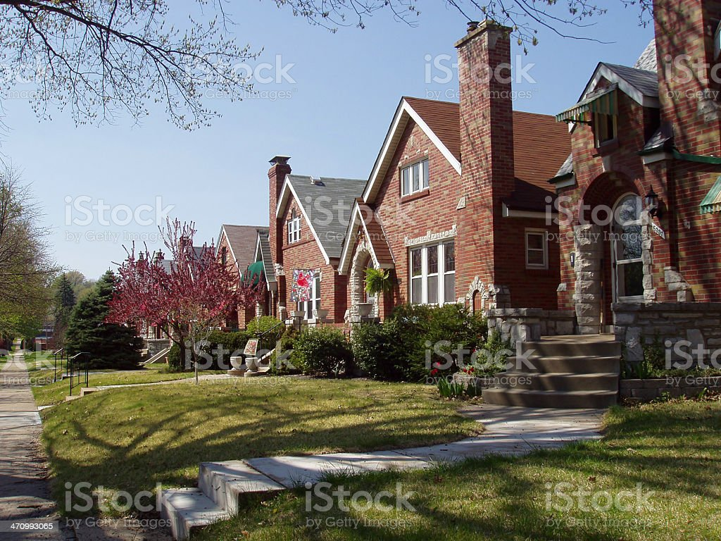 Real Estate - Houses royalty-free stock photo