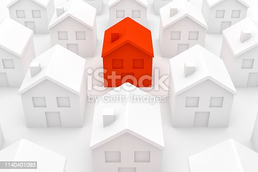 915688450istockphoto Real Estate Industry, Mortgage, New Home Concept 1140401093