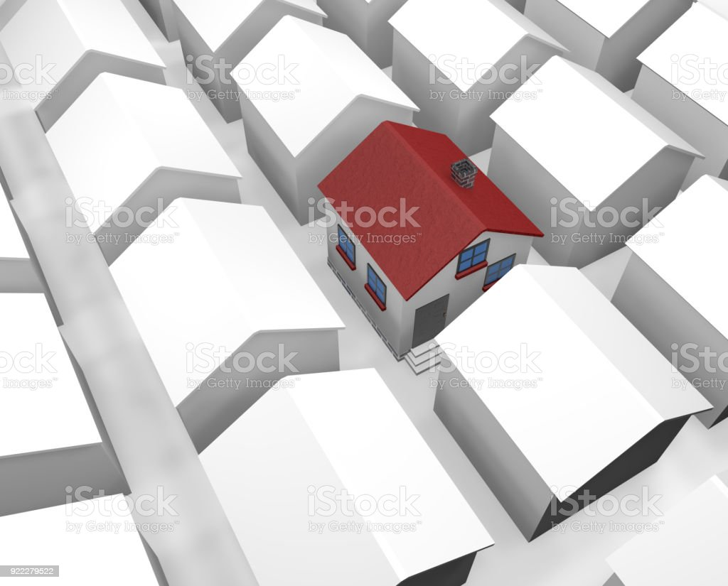 Real Estate Industry stock photo