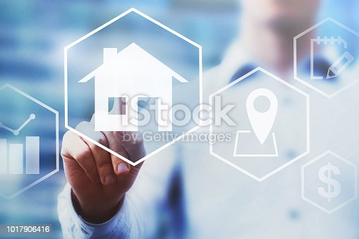 istock real estate investment concept, property value diagram 1017906416